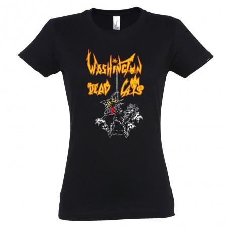 T-shirt femme WDC - Hanged Cat