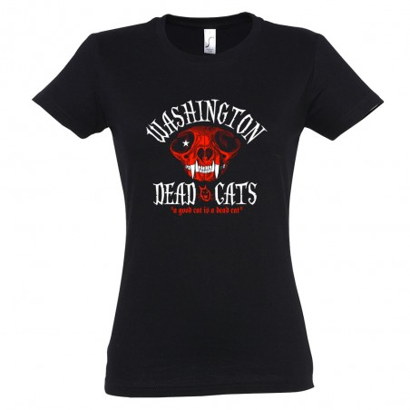 T-shirt femme WDC - A Good Cat