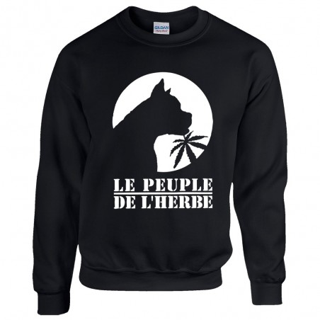Sweat homme col rond Dog's...