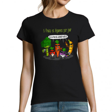 T-shirt femme 5 fruits et...