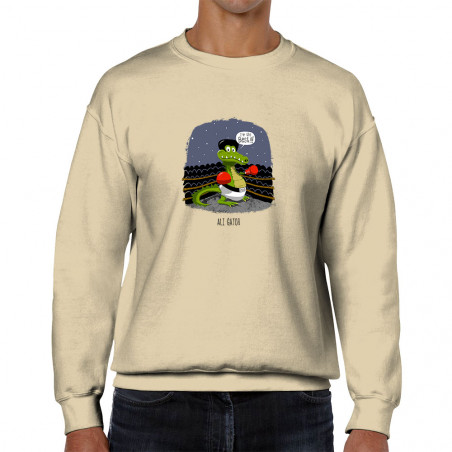 Sweat homme col rond Ali Gator