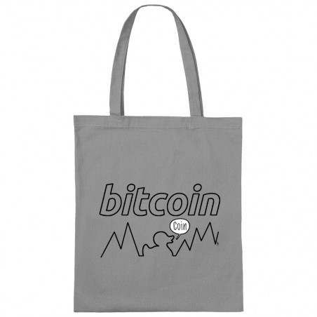 Sac shopping en toile Bitcoin