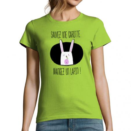 T-shirt femme Sauvez une...