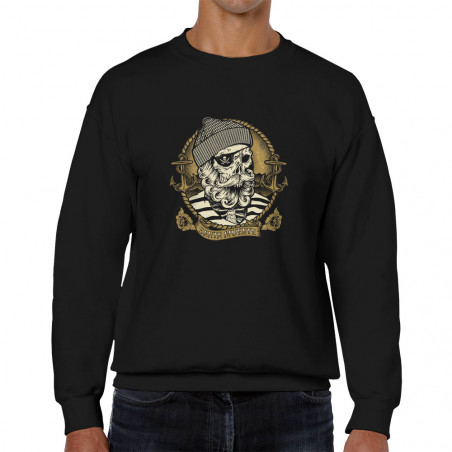 Sweat homme col rond Santa...