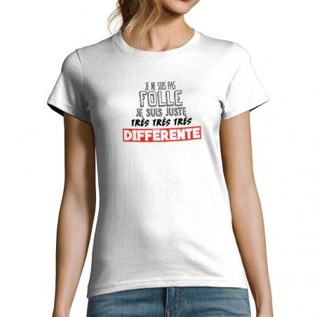 T-shirt femme Je ne suis...