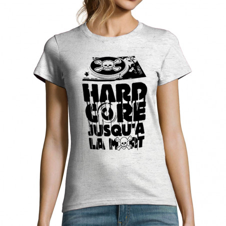 T-shirt femme Hardcore...