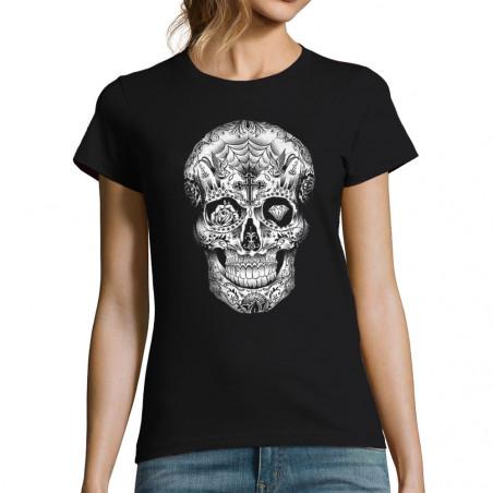 T-shirt femme Tattooed Skull