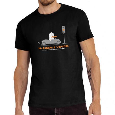 """Tee-shirt homme """"Le Canard..."""