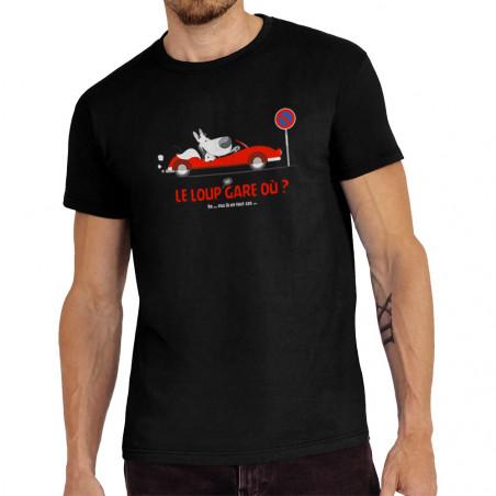 Tee-shirt homme Le Loup se...