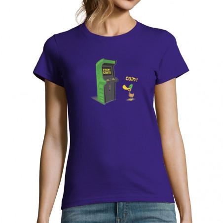 T-shirt femme Insert Coins