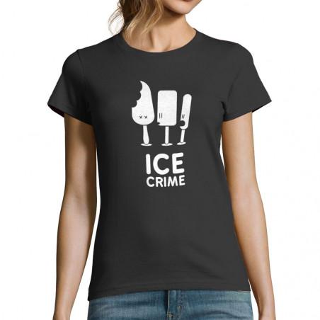 T-shirt femme Ice Crime