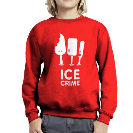 Sweat enfant col rond Ice...