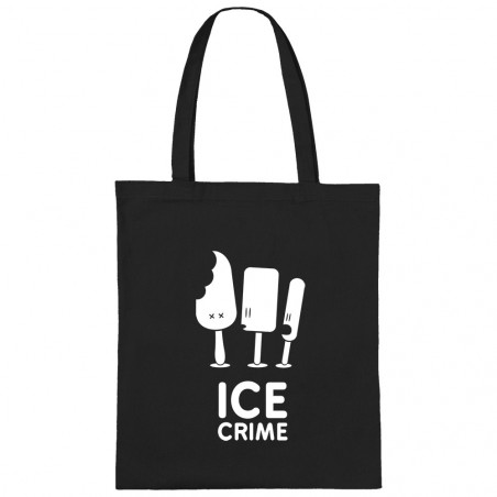 Sac shopping en toile Ice...