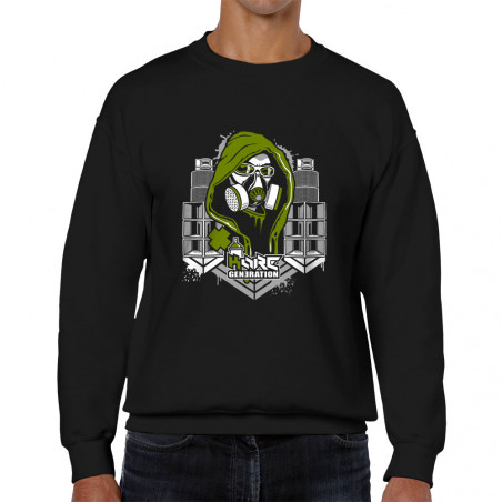 Sweat homme col rond Kore...