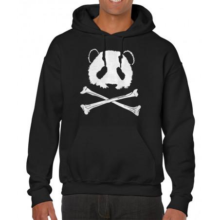 Sweat homme à capuche Panda...