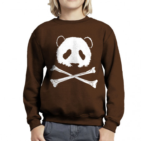 Sweat enfant col rond Panda...