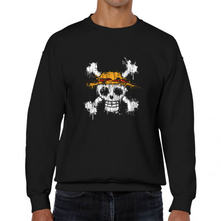 Sweat homme col rond One Skull