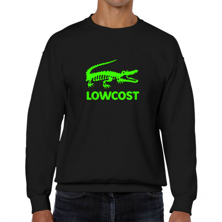 Sweat homme col rond Lowcost
