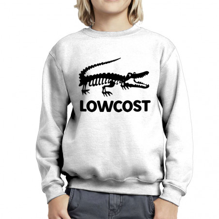 Sweat enfant col rond Lowcost
