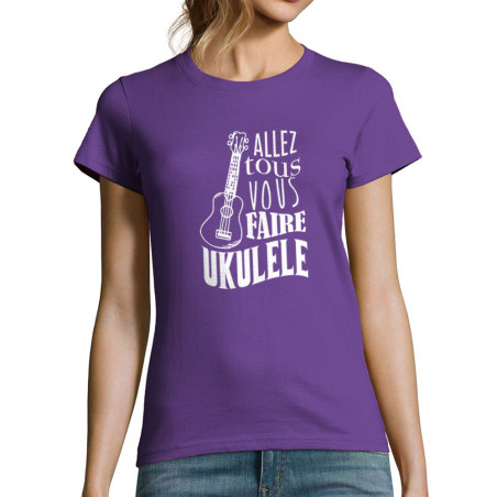 T-shirt femme Allez tous...