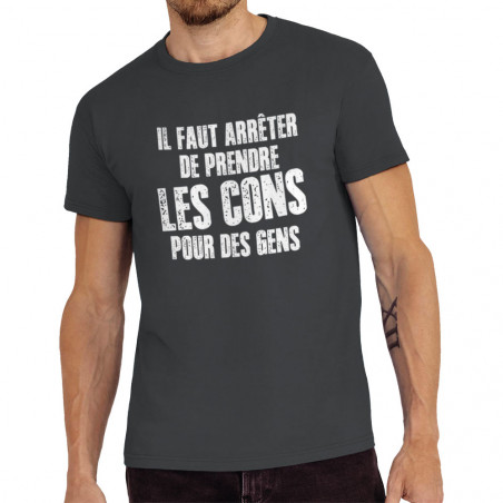 Tee-shirt homme Il faut...