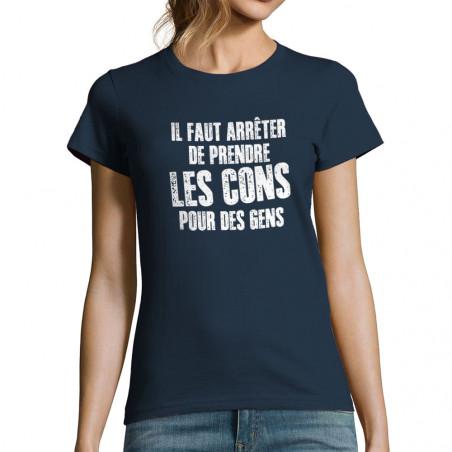 T-shirt femme Il faut...