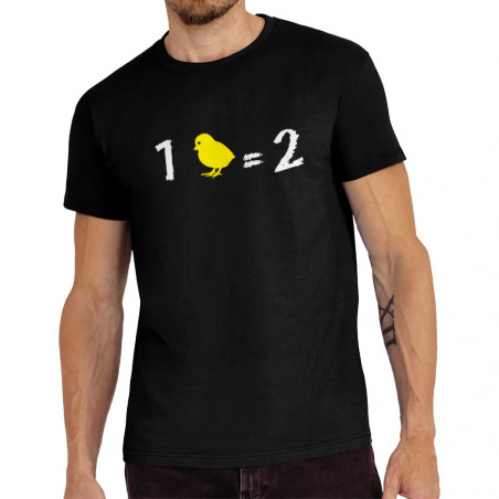 Tee-shirt homme 1 poussin...