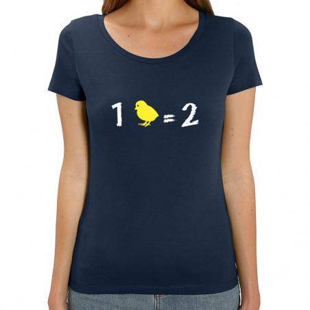 Tee-shirt femme coton bio 1...
