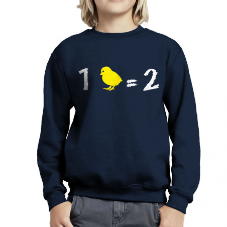 Sweat enfant col rond 1...