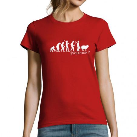 T-shirt femme Evolution Mouton