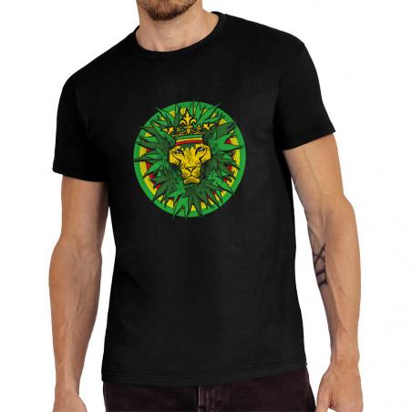 Tee-shirt homme Rasta Lion...