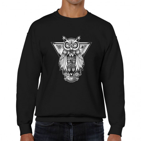 Sweat homme col rond 1837 -...