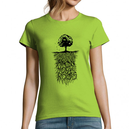 T-shirt femme Know Your Roots