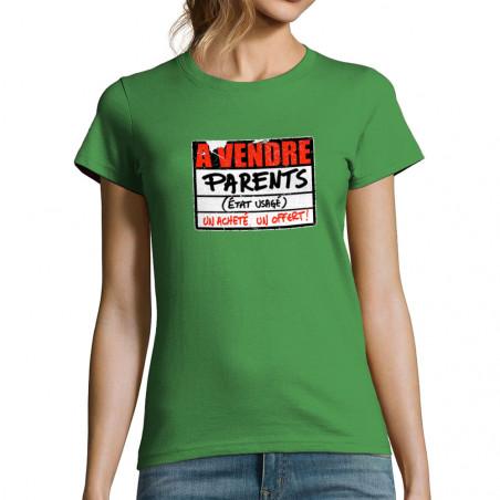 T-shirt femme A vendre parents