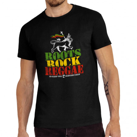 Tee-shirt homme Roots Rock...