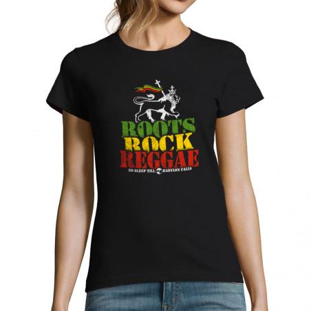 T-shirt femme Roots Rock...