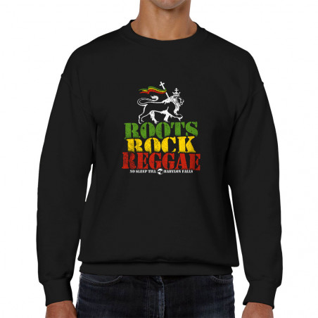 Sweat homme col rond Roots...