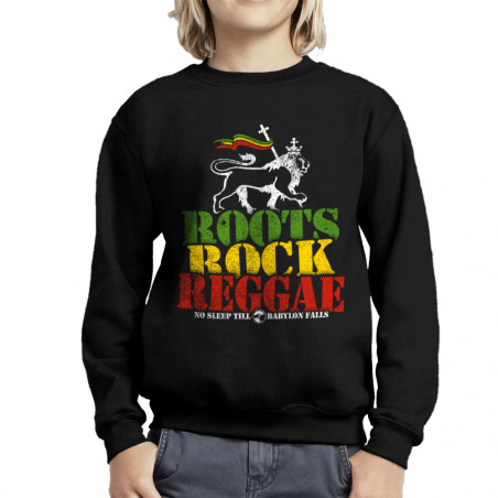 Sweat enfant col rond Roots...