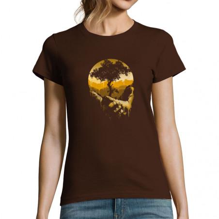 T-shirt femme Aide la nature