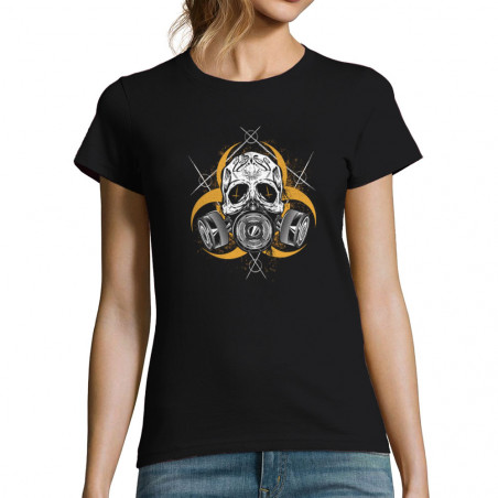 T-shirt femme Nuclear Skull