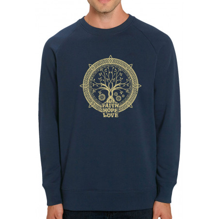 Sweat homme col rond coton...