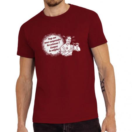 Tee-shirt homme Trop con...