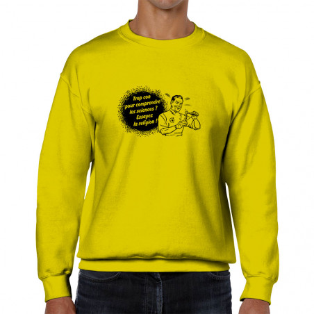 Sweat homme col rond Trop...