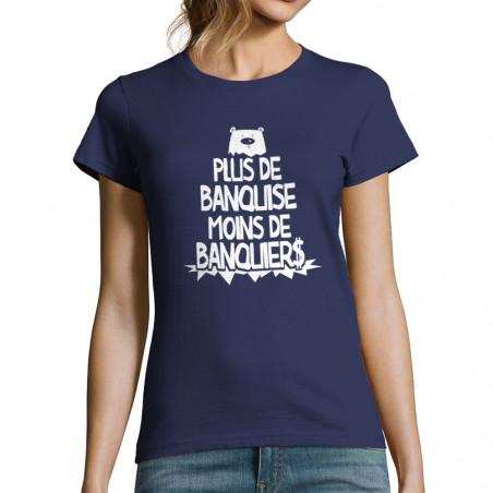 T-shirt femme Plus de banquise