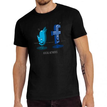 Tee-shirt homme Asocial...