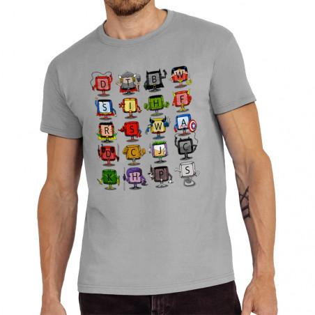 Tee-shirt homme Superheros...