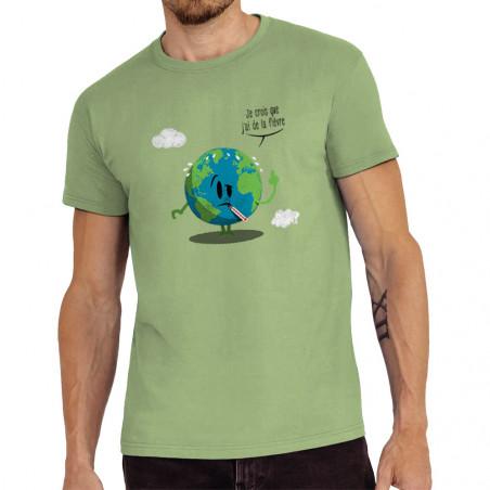 "Tee-shirt homme ""Je crois..."