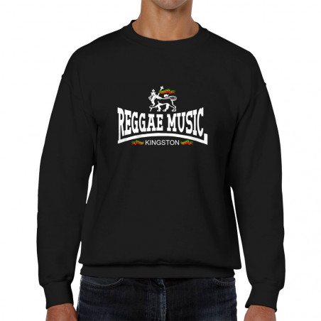 Sweat homme col rond Reggae...