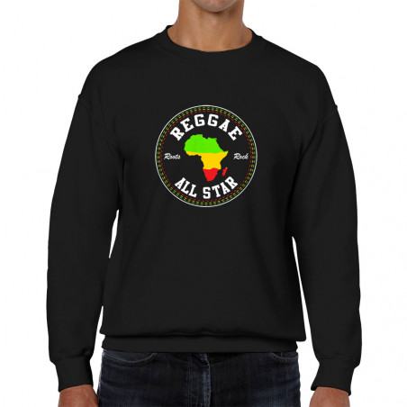 Sweat homme col rond Reggae...