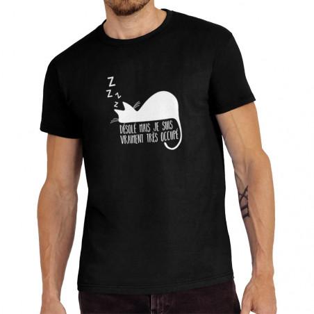 Tee-shirt homme Désolé mais...